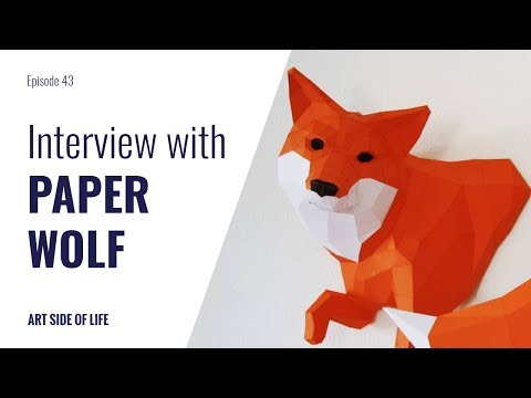 SUCCEEDING ON ETSY AND DAWANDA -WITH WOLFRAM KAMPFFMEYER (PAPERWOLF) (EP.43)