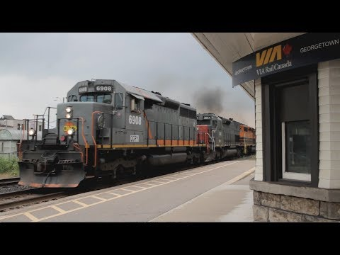 Hot Action at Historic Georgetown Station! [HD]