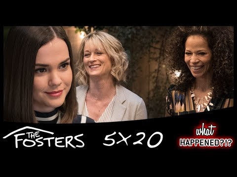 THE FOSTERS 5x20 Recap: One Year Later & Awkward Family Dinner - Series Finale Part 1 & Promo