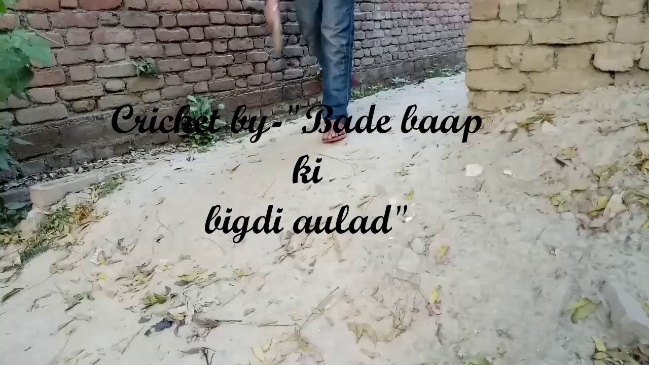 Cricket by-