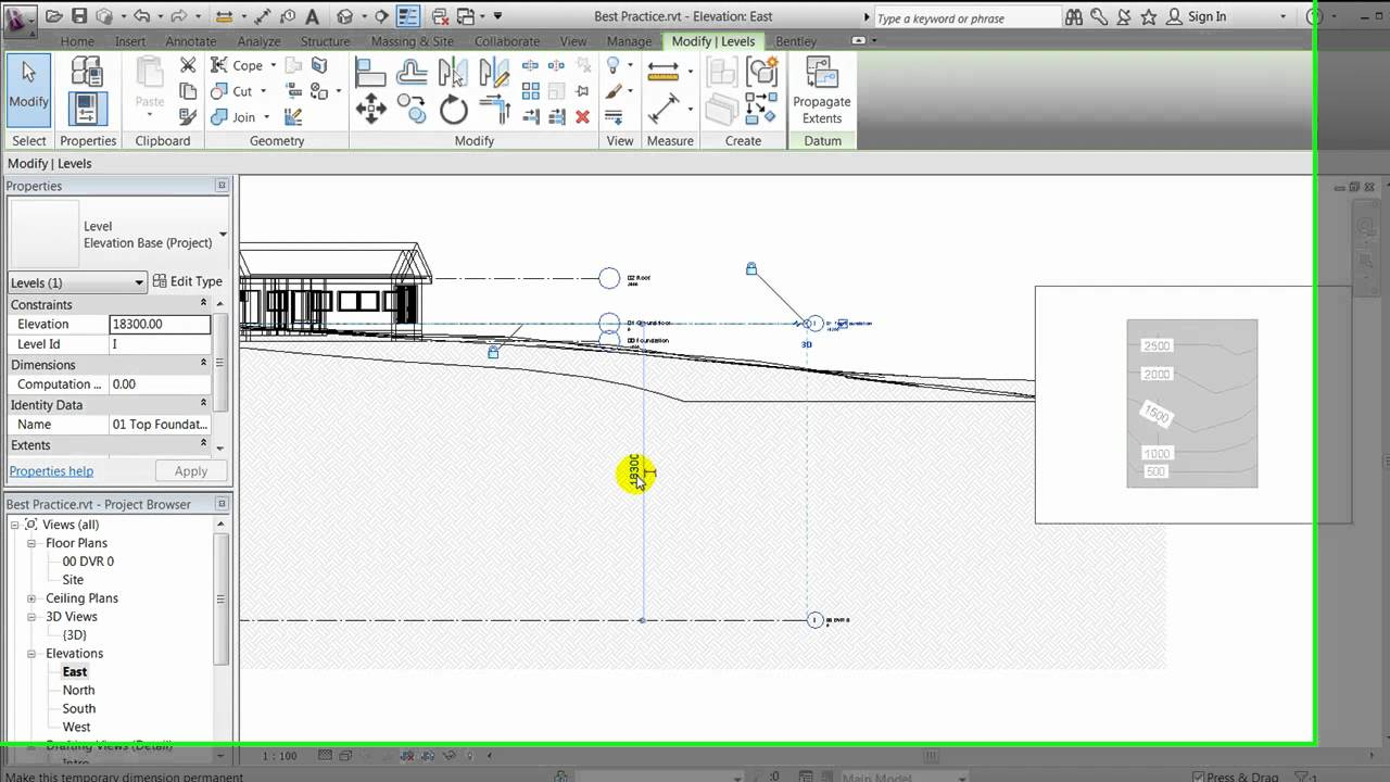 Revit 2012 - Site Modelling - Best Practice