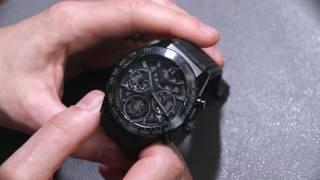 TAG Heuer Carrera Heuer-02T Tourbillon Chronograph Watch Review | aBlogtoWatch