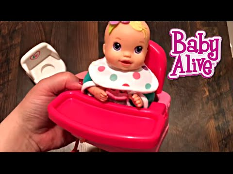 Baby Alive Kicks n Cuddles Newborn Doll Target Circo Potty and High Chair Changing Video