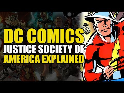 DC Comics: Justice Society Of America Explained