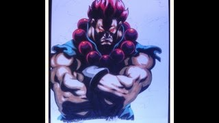 [Street Fighter] How to draw Akuma (part 2) /Comment dessiner Akuma (partie 2)