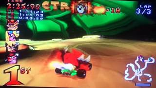 Crash Team Racing Walkthrough (Part 8)-Flying tigers in space