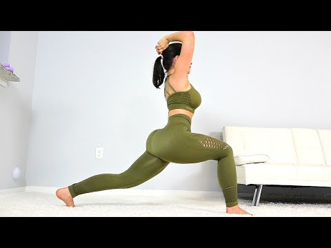 Butt Lifting & Thigh Toning Workout with Lunges!
