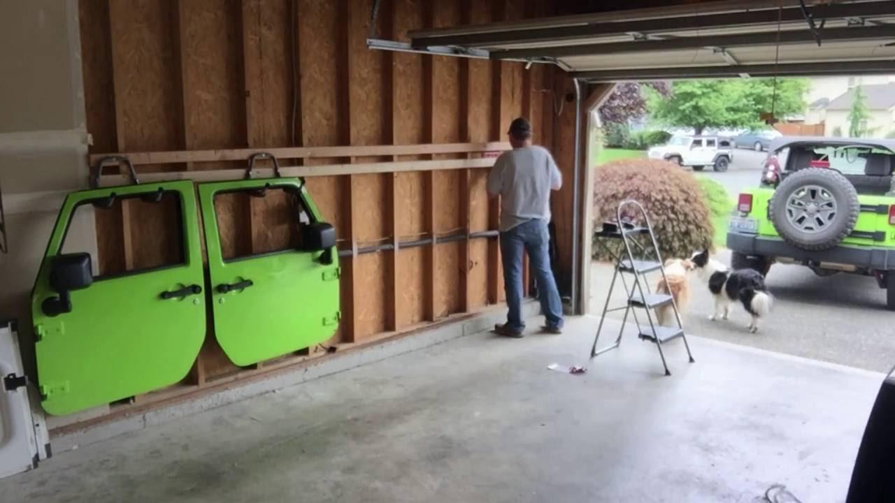 Jeep Door Wall Hangers