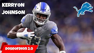 Kerryon Johnson RETURNS To The Lions! BREAKING NEWS: Detroit Lions Talk