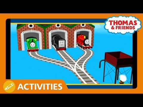 Thomas & Friends UK: Getting To The Wash Down