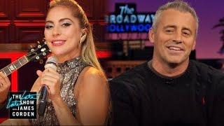 Lady Gaga to Matt LeBlanc: Rachel or Monica?