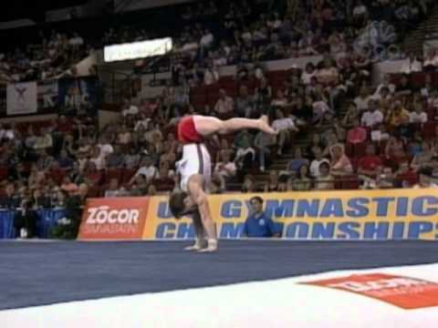 Paul Hamm - Floor Exercise - 2003 U.S Championships - Men - Day 2