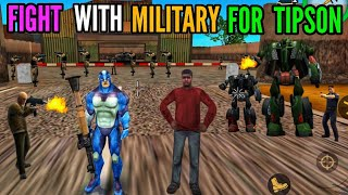fight with military for tipson in rope hero vice town    classic gamerz