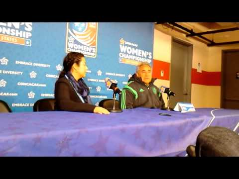 Mexico WNT 10, Martinique 0 - Post-match conference with Mexico coach Leonardo Cuellar
