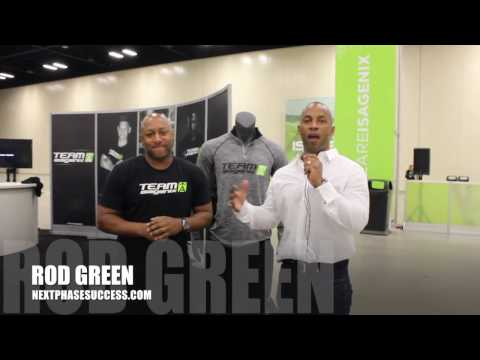 Team Isagenix For Athletes Work with Rod Green and JJ Birden