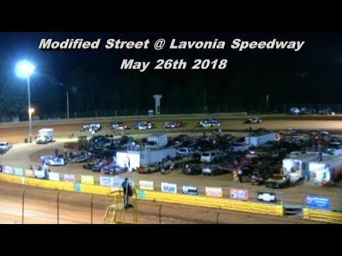 Modified Street at Lavonia Speedway May 26th 2018