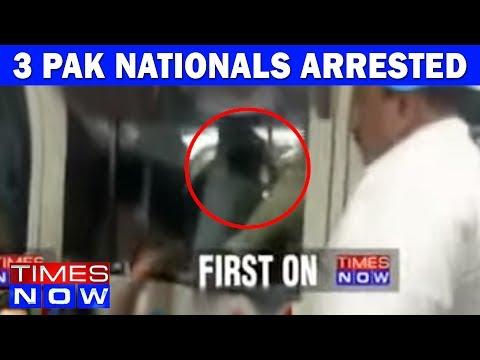 Three Pak Nationals Arrested In Bengaluru