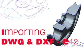 E12 CREO Parametric 2.0 DWG - DXF conversion