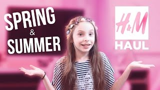 Spring & Summer // H&M // Kids - Little Girl Shopping Haul - Style with Inna