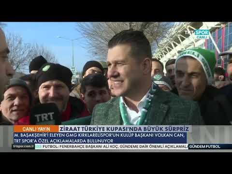 Kırklarelispor çeyrek finalde! Başkan Volkan Can: Fenerbahçe'yi istiyoruz