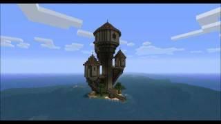 [minecraft Timelapse] The Wizard Island