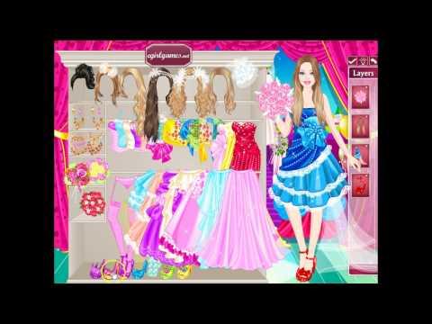 Игра-одевалка Барби на свадьбе