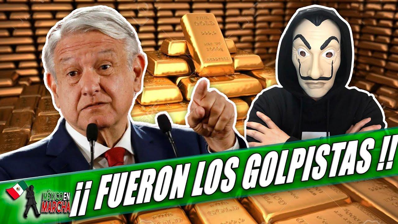 Bóveda De Oro Mexicana Resistió Como Los Valientes!! Querían Saquearla Los Hackers y Golpistas