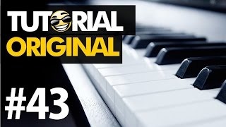 #43 Hallelujah (Alexandra Burke) | Tutorial no Teclado Original