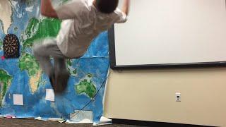 BACKFLIP DURING CLASS!?