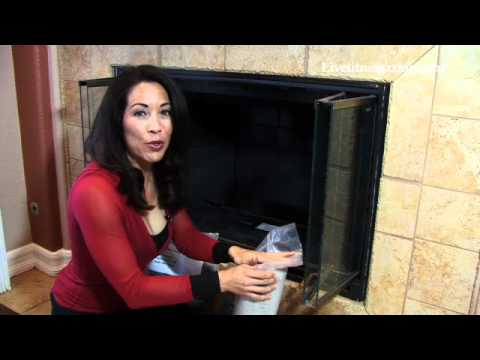 How To Install Reflective Glass In Your Fireplace Youtube
