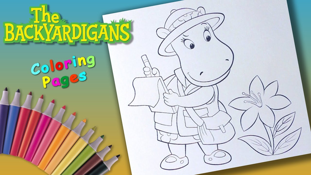 Backyardigans coloring pages on Coloring-Book.info | 720x1280