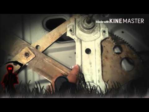 Cutlass window regulator removal from driver manual door