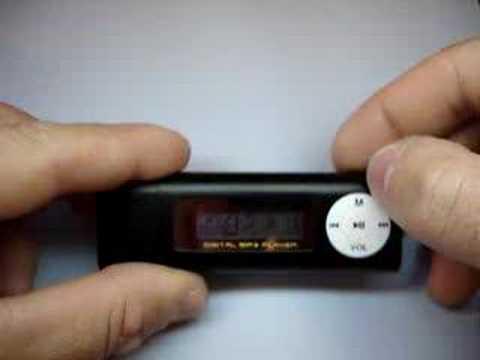 Lecteur MP3 Black Lou