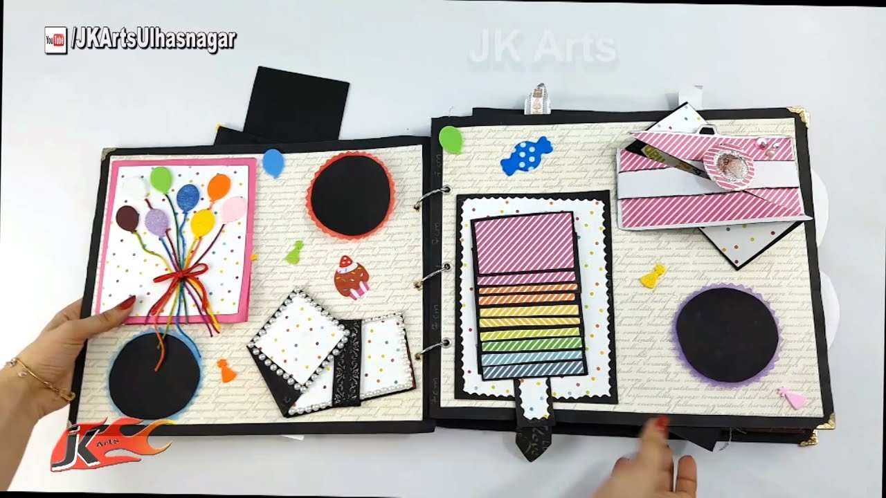diy birthday scrapbook for him birthay gift idea how to make a