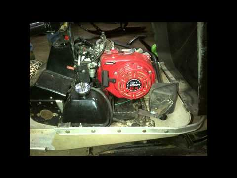Arctic Cat Kitty Cat 6.5hp 4 stroke engine swap