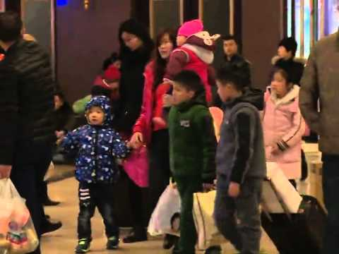 New Year travel rush begins in China