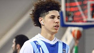 FULL GAME! Lamelo & Liangelo Ball LITHUANIA FULL DEBUT! GELO DESTROYS RIM!!!