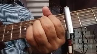 Tum to thehre pardesi guitar lesson chords for beginners/ Tum to thehre pardesi tutorial/Altaf Raja