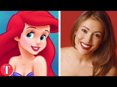 10 Disney Cartoon Characters Based On Real Life People