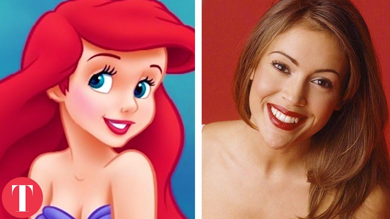 10 Disney Cartoon Characters Based On Real Life People