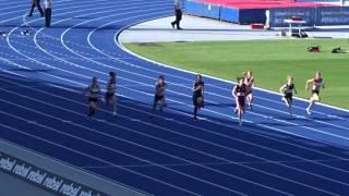 U/14yrs 100m Women Final, Australian Athletics Championships, Olympic Park Sydney 1/04/2017 2017 Video