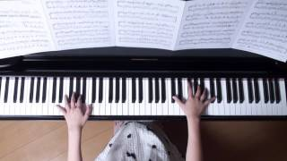 ハッピーエンド ピアノ back number 映画 『ぼくは明日、昨日のきみとデートする』 主題歌 (ぷりんと楽譜・上級)