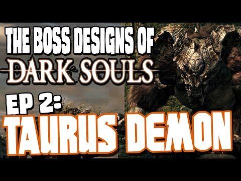 The Boss Designs of Dark Souls - 2: The Taurus Demon || Character design analysis