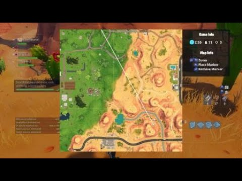 Fortnite Season 5 WEEK 2 STAR LOCATION (Search Between Oasis, Rock Archway, And Dinosaurs)
