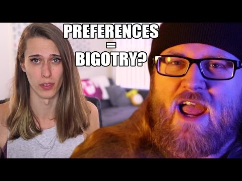 DATING PREFERENCES = BIGOTRY?!