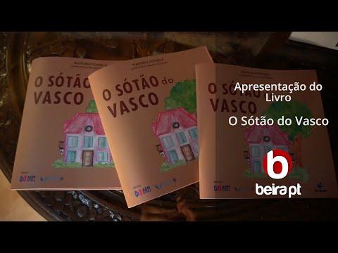"""Apresentação do livro """"O Sótão do Vasco"""" - beira.pt"""