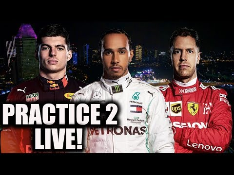 2019 Singapore Grand Prix Practice 2 Watchalong