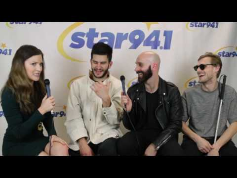 Interview with X Ambassadors at Star 94.1 Jingle Jam