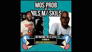 DLTLLY // English Rap Battle // Nils m/ Skils vs Mos Prob (B.Day#1) // 2014