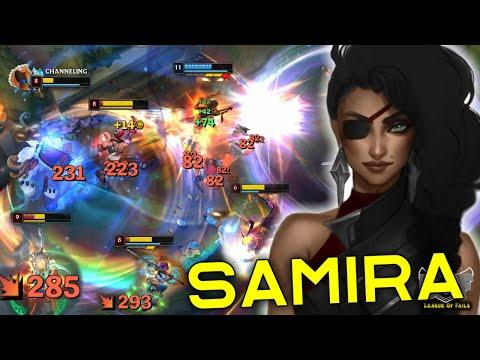 Samira LoL Montage (Pentakill, 1v5, Outplays, Ult, 200IQ...)